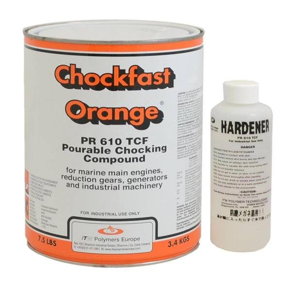Chockfast Orange 3,4 kg (2 Liter)